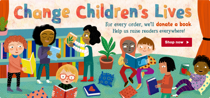 Change Children's Lives with the Barefoot Books Raising Readers Campaign