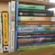 Stack of assorted books for children and young adult readers
