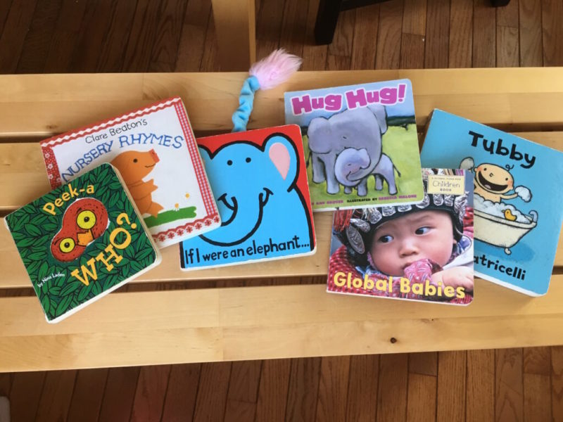 Five Board Books for Babies