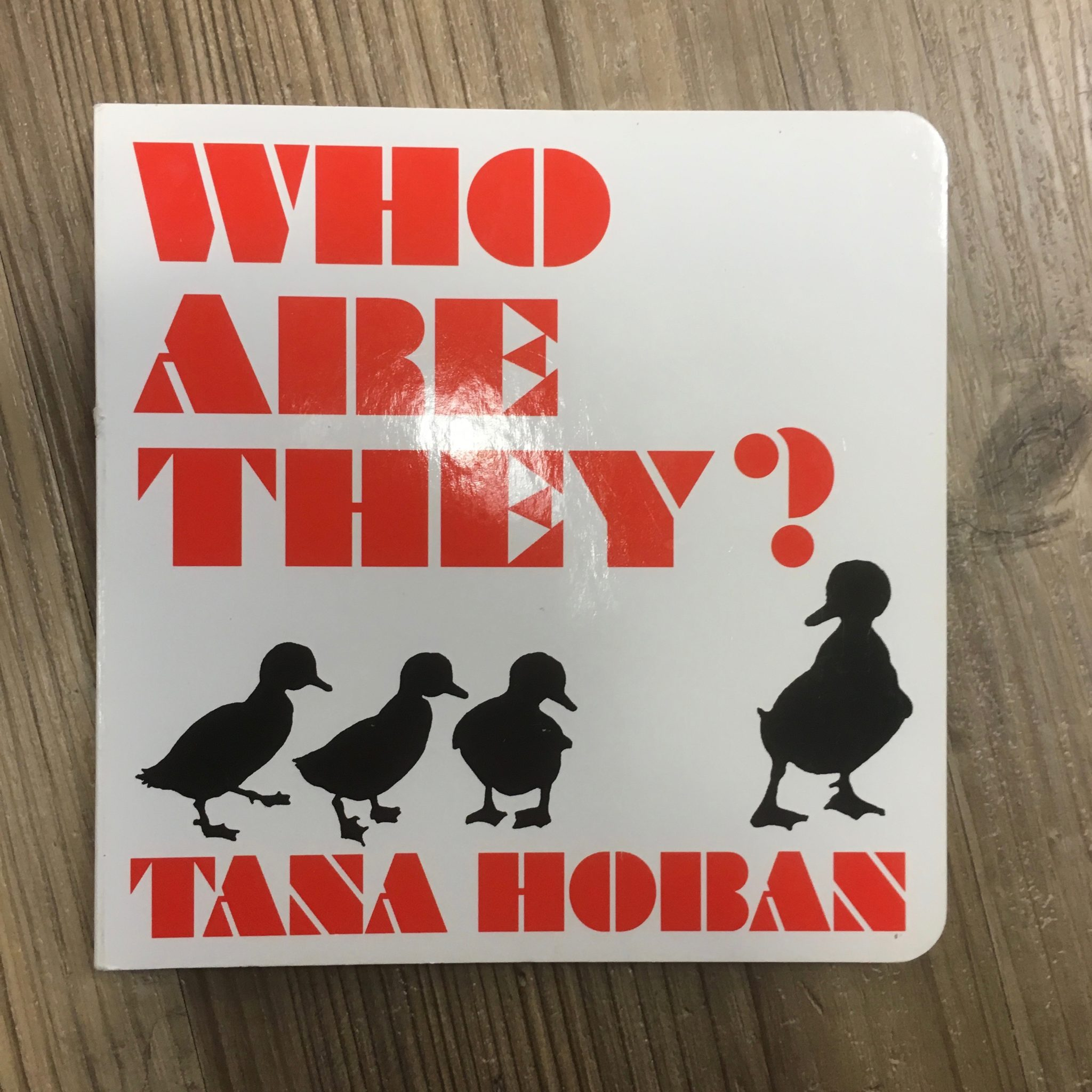 """Who Are They?"" by Tana Hoban"